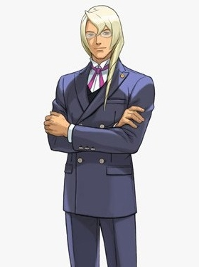 Kristoph Gavin wig from Ace Attorney