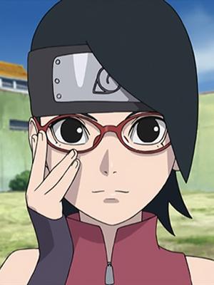 Sarada Uchiha wig from Naruto