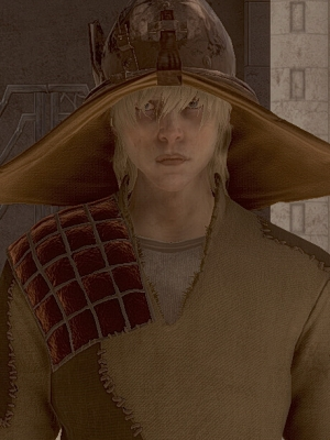 Cole wig from Dragon Age: Inquisition