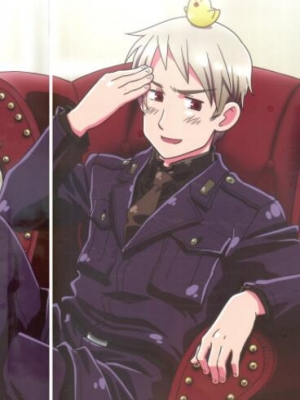 Gilbert Beilschmidt wig from Axis Powers Hetalia