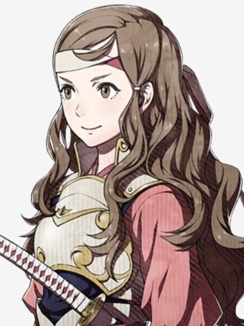 Hana wig from Fire Emblem Fates