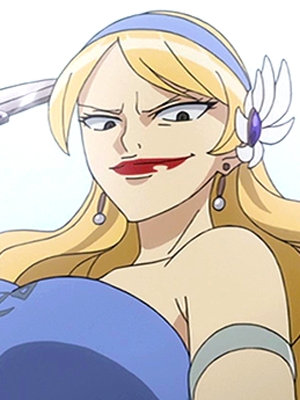 Coordinator wig from Fairy Tail