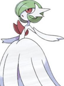 Gardivoir wig from Pokemon