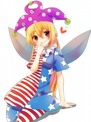 Clownpiece wig from Touhou Project
