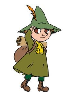 Snufkin wig from Moomin
