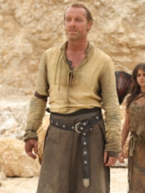 Jorah Mormont perruque De Game of Thrones