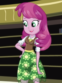 Miss Cheerilee wig from My Little Pony