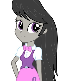 Octavia Melody wig from My Little Pony