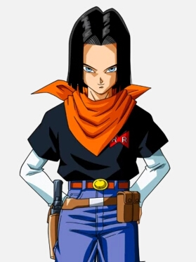 Android 17 wig from Dragon Ball