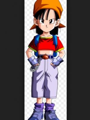 Pan peluca de Dragon Ball