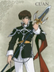 Quan wig from Fire Emblem: Genealogy of the Holy War