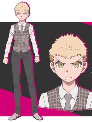 Fuyuhiko Kuzuryu wig from Danganronpa 2: Goodbye Despair