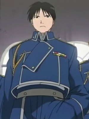 Roy Mustang wig from FullMetal Alchemist