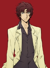 Sakunosuke Oda wig from Bungou Stray Dogs