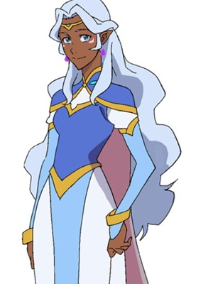 Princess Allura wig from Voltron: Legendary Defender