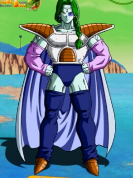 Zarbon perruque De Dragon Ball