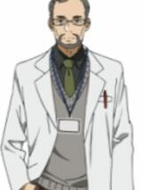 Dr. Shigemura peruca from Sword Art Online