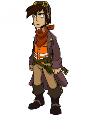 Rufus wig from Deponia