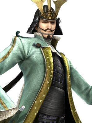 Mogami Yoshiaki peluca de Devil Kings