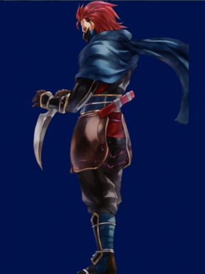 Saizo wig from Fire Emblem Fates