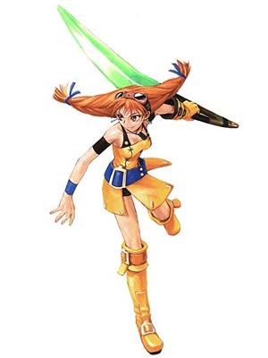 Aika wig from Skies of Arcadia