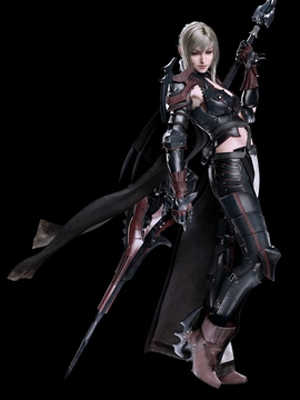 Aranea Highwind peluca de Final Fantasy XV