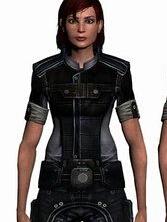 Commander Shepard wig from Mass Effect