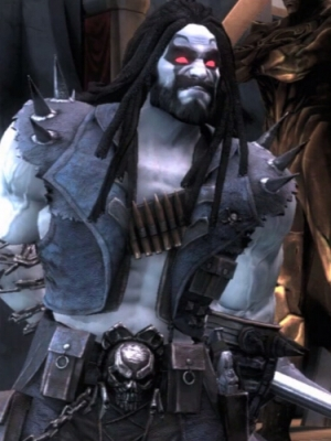 Lobo wig from Injustice: Gods Among Us