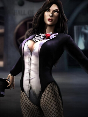 Zatanna wig from Injustice: Gods Among Us