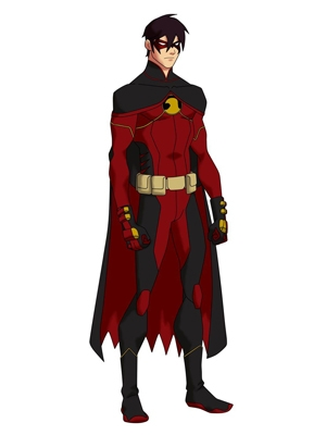 Tim Drake wig from Young Justice