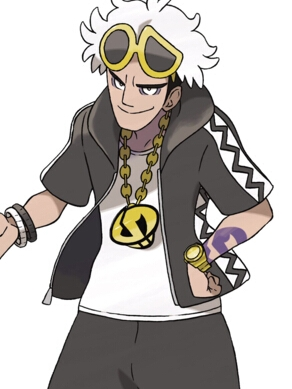 Guzma wig from Pokemon Sun and Moon