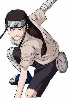 Neji Hyuga wig from Naruto