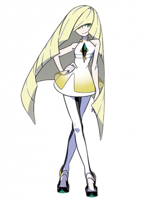 Lusamine wig from Pokemon