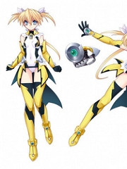 Subaru Hoshizaki wig from Magical Girl Lyrical Nanoha