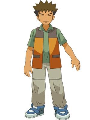 Brock Harrison peluca de Pokémon