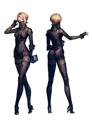 Operator 21O wig from NieR: Automata