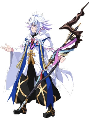 Merlin Ambrosius wig from Fate Grand Order