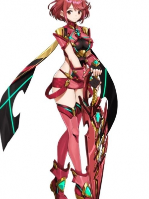 Pyra 가발 from Xenoblade Chronicles 2