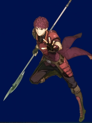 Lukas wig from Fire Emblem Echoes: Shadows of Valentia
