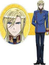 Viktor von Glanzreich Perücke von The Royal Tutor