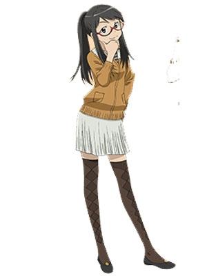 Rika Yoshitake perruque De Genshiken