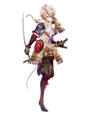 Toyotomi Hideyoshi wig from Sengoku Night Blood