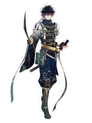 Kuroda Kanbee wig from Sengoku Night Blood