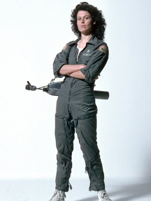 Ellen Ripley wig from Alien (Film)