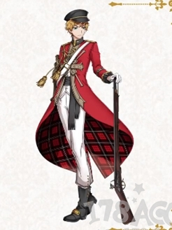 BrownBess parrucca Da The Thousand Musketeers
