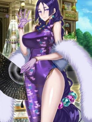 Minamoto no Raiko wig from Fate Grand Order