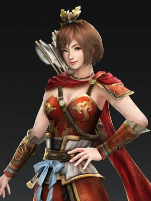 Sun Shangxiang wig from Dynasty Warriors