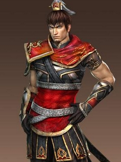 Sun Ce wig from Dynasty Warriors