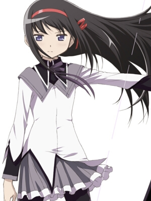 Homura Akemi wig from Puella Magi Madoka Magica