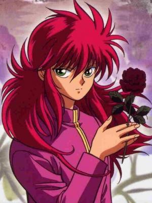 Kurama wig from YuYu Hakusho